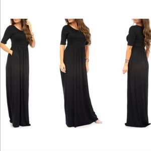 Zenana Outfitters Maxi Dress with Pockets